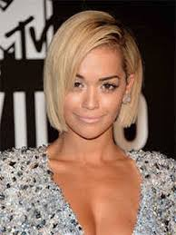 short hairstyle angled away from face 30 short haircuts for women based on your face shape