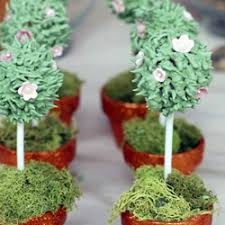 Lollipop Topiary Tree - desserts recipes for your party catch my party