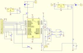 microcontroller voltmeter ammeter with lcd