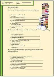 speech elementary worksheet