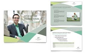 financial advisor powerpoint presentation powerpoint template