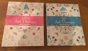 disney art therapy colouring book review twin mummy daddy