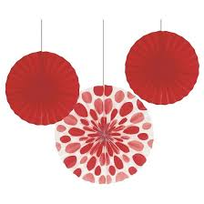 hanging paper fans 3ct paper fans hanging party decorations target