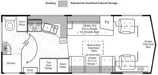 motorhome floor plans lazy daze floor plans