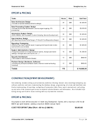 scope of work template 9 statement of work straighterline