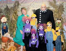 Minion Halloween Costume Ideas Family Halloween Costume Idea