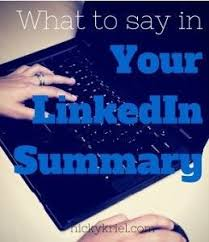 What To Say In A Video Resume Best 25 Linkedin Summary Ideas On Pinterest Resume Job Search