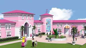 barbie dreamhouse protesters say barbie dreamhouse in berlin a bad model for girls