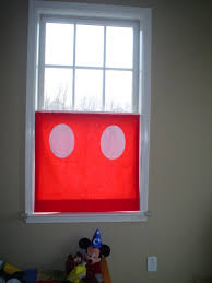 Red Mickey Mouse Curtains Design Ideas Mickey U0027s Pants Cafe Curtains Tara Miller Designs