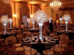 centerpiece rentals nj 1920 s vintage gatsby themed wedding centerpieces at lucien s nj