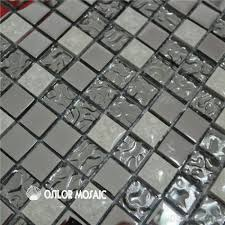 tile backsplash sheets cheap glass silver glass and metal mosaic tile with white ceramic mosaic tile