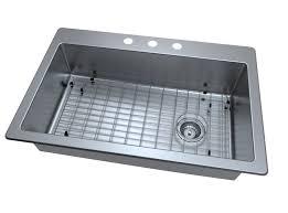 33 x 22 drop in kitchen sink ancona valencia series 33 x 22 single bowl drop in kitchen sink
