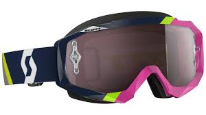 pink motocross goggles scott hustle mx oxide chrome works goggle purple black offroad
