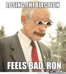 Ron Paul Memes - ron paul feels bad by bakoahmed meme center