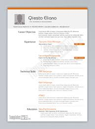 Simple Resume Template Download Resume Examples Resume Templates Download Microsoft Word Office