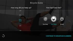 fitstar personal trainer android apps on google play