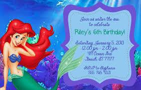 mermaid birthday invitations free free printable invitation design