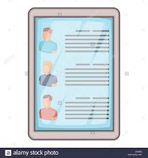 Resume Vector Cartoon Illustration Man Searching Map Stock Photos U0026 Cartoon