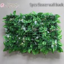 wedding backdrop grass online shop flower all gulf artificial flower wall for