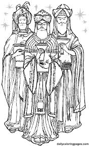 the three kings men coloring pages many interesting cliparts