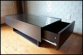 ikea glass top coffee table with drawers luxury glass top coffee table with drawers ikea doutor