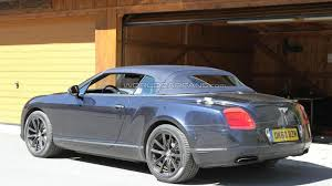 bentley continental gt speed revised 2012 bentley continental gtc speed facelift spied for first time
