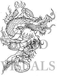 japanese dragon tattoo design by ojibway doko on deviantart