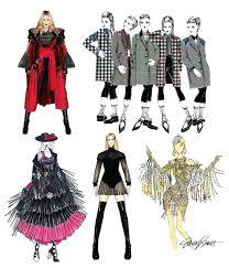 Rebel Halloween Costume Rebel Heart Tour Designer Costume Sketches Madonnatribe