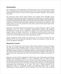 template for audit report 10 audit report exles sles
