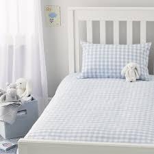 gingham bed linen kids bedroom pinterest white company