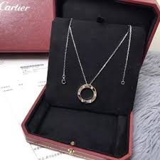 cartier love necklace images Cartier love necklace full set new women 39 s fashion jewellery on jpg