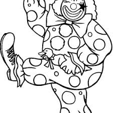 a happy clown coloring page color luna