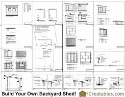 Free Wood Shed Plans 10x12 by 10x12 Studio Shed Plans S3 10x12 Office Shed Plans Modern Shed