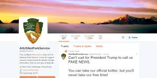 Interior Department Twitter Ban Rogue Tweets A Guide To U0027alt U0027 Fake Government Twitter Accounts