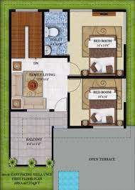 small duplex plans north facingouse plan for 50x40 plot x small plans 30x40 duplex