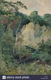 trees near the greta river c19th century artist sell