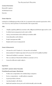 Sample Resume For Ojt Accounting Students by Sample Resume Objectives For Accounting