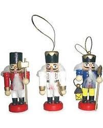 nutcracker ornaments deals on santa s workshop 3 in nutcracker ornaments set of 3
