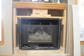 our fireplace transformation joy in our home