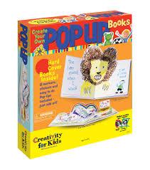 creativity for kids kit create your own pop up book joann