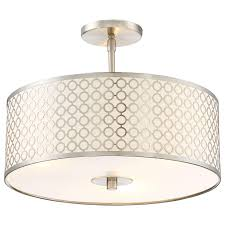 Flush Ceiling Light Fixtures Dots Semi Flush Ceiling Light By George Kovacs Ylighting