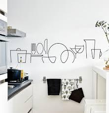 love this vinyl wall decal for kitchen ideas para mi casa