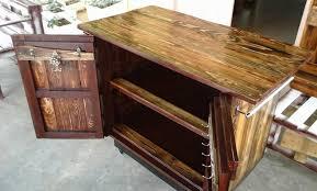 pallet kitchen island wooden pallet kitchen island table 101 pallets