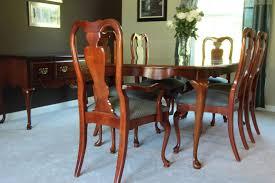 solid cherry wood american drew cherry grove 9 pc dining room set
