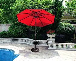 Patio Umbrella Fabric by Fully Automatic 9 Foot Patio Umbrella With Sunbrella Fabric Patio
