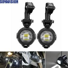 led lights for motorcycle for sale best sell pair universal motorcycle led auxiliary fog light