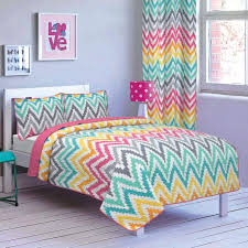 Twin Xl Quilts Coverlets Rainbow Zigzag Chevron Girls Bedding Teal Blue Pink Twin Twin Xl