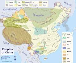 Hmong Map The People That Make Up China
