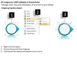 ppt continuous work flow chart powerpoint of 3 stages circular