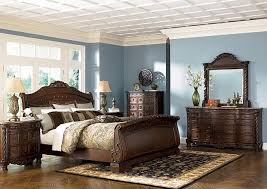 Furniture City Fresno CA North Shore Queen Sleigh Bed WDresser - Ashley furniture fresno ca